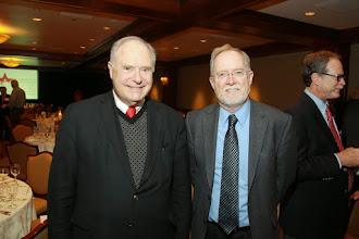 Photo: Dr Kenneth Goodpaster, Dr Michael Naughton
