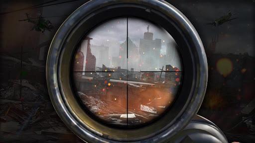 Code Triche Mountain Sniper Shooter Cover Agent APK MOD screenshots 2