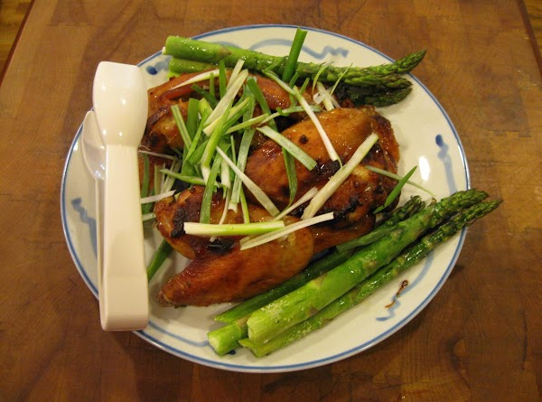 Spicy Ginger And Orange-glazed Chicken Wings Recipe
