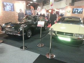 Photo: ...shows off the Beatle's old cars