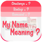 My Name Meaning : Share It