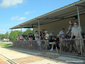 Photo: Crowd at the station.  HALS 2009-0620
