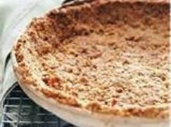 Pecan Shortbread Cookie Crust Recipe