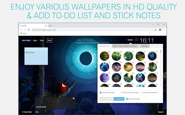 Luna Wallpaper HD Luna New Tab