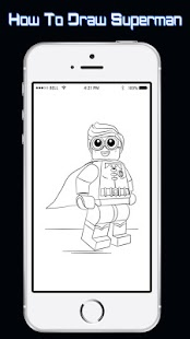 How To Draw SuperHeroes Lego - náhled