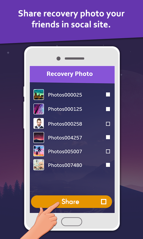 Deleted Photo: Recovery & Restore Screenshot 2