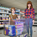 Shopping Mall Girl - Supermarket Shopping Games 3D icon