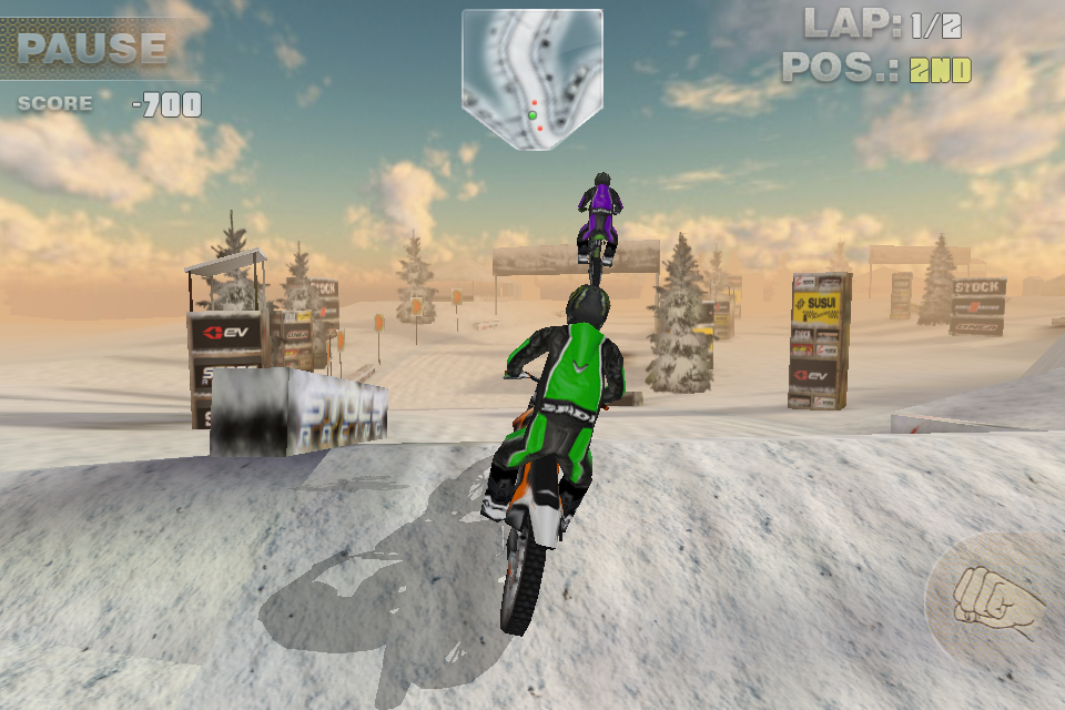 Bikes 2 Nv Ramps HC Dirt Bike screenshot