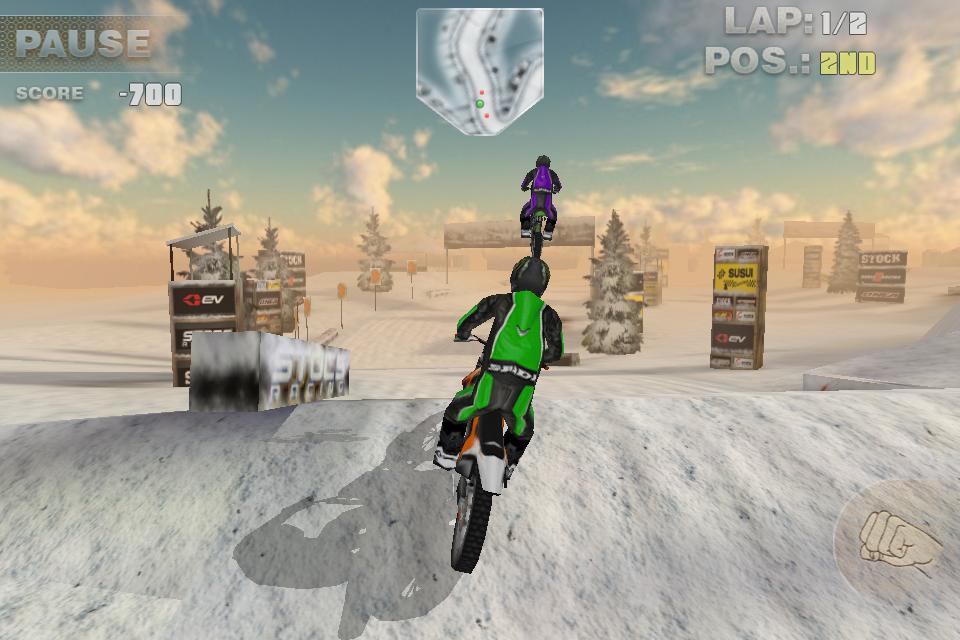 Bikes 2 Nv Ramps HC Dirt Bike screenshot