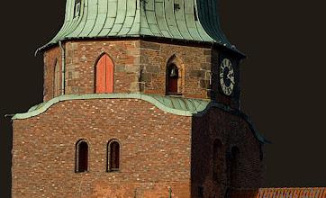 Photo: Kirchturm der St. Lorenz-Kirche aus dem 17. Jht. in Travemünde  Anna von Elswich oo Lübeck 1678 Hinrich Woldt  siehe: http://www.beepworld.de/members5/jennus/mutzenbecher.htm