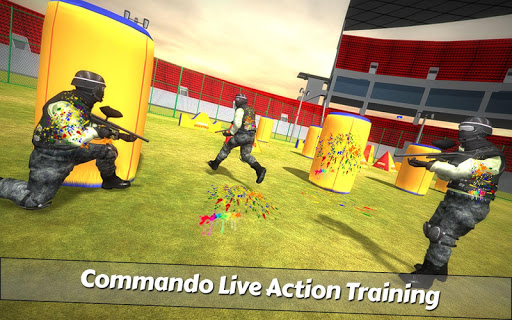 PaintBall Shooting Arena3D : Army StrikeTraining 1.5.1 screenshots 1