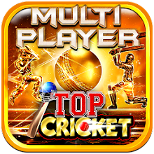 Top Cricket MultiPlayer APK poster