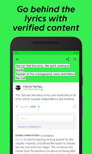 Genius — Song Lyrics & More 3.3.0 screenshots 4