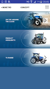 New Holland Ag. T6 range App screenshot 2