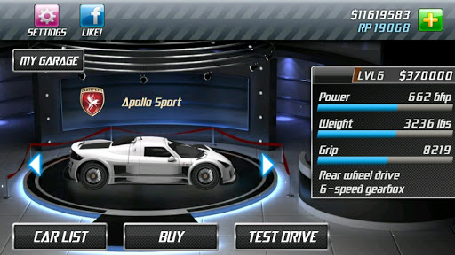 Drag Racing screenshot 11