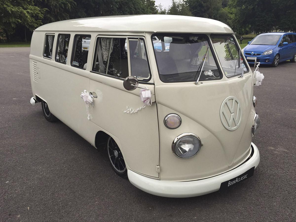 Volkswagen Split Screen Camper Hire Welling