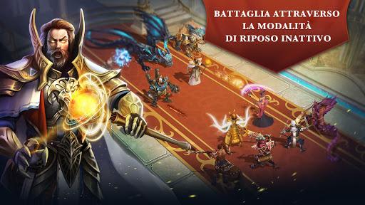Trials of Heroes: Idle RPG  άμαξα προς μίσθωση screenshots 1