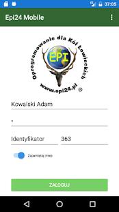 EPI24 - Ewidencja Polowań - náhled