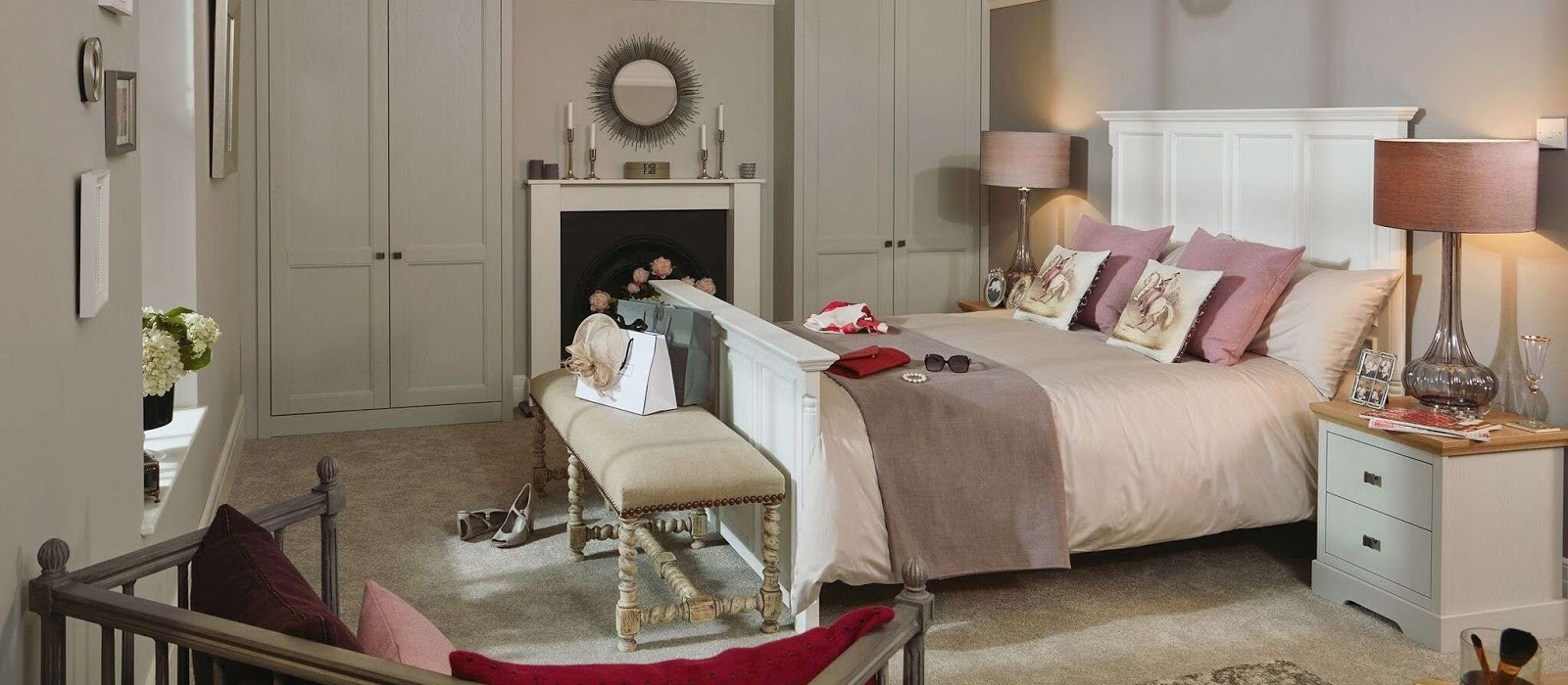 Bedroom furniture | WElford | Heart Kitchens