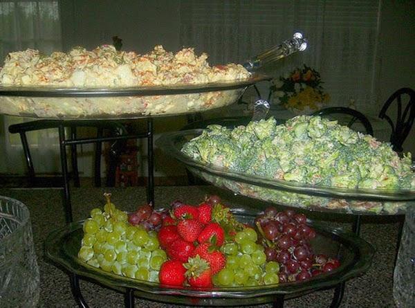 Glorious salads: Potato, broccoli & fruit salads