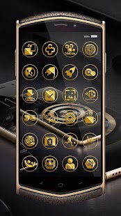 Luxury Gold Icon Pack Screenshot