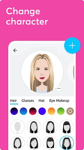 Mirror Avatar Maker & Emoji Sticker Keyboard screenshot 3