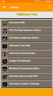 Halloween Bundle for MCPE - náhled