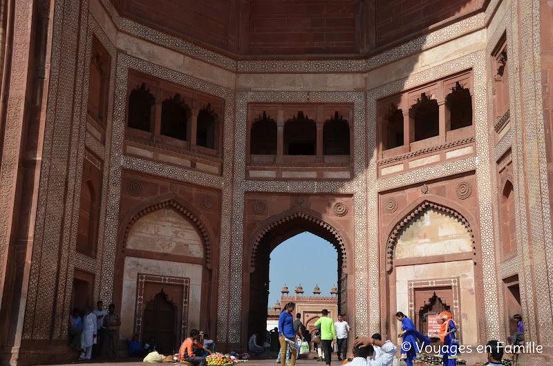jama masjid, porte sud