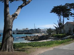 Photo: View of Monterey Bay Aquarium from Hopkins!