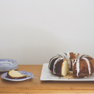 Dark 'n' Stormy Bundt Cake.