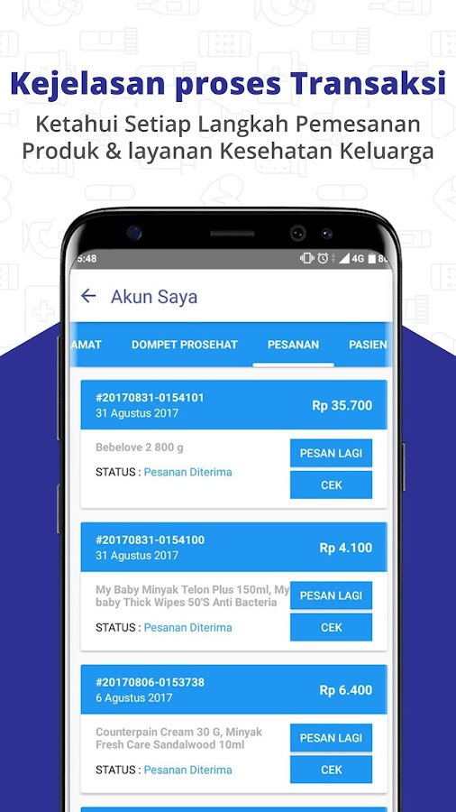 ProSehat Health App 🇮🇩  : Order Home Vaccination- screenshot