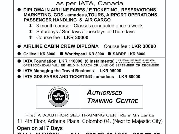 INTERNATIONAL AIRLINE TICKETING ACADEMY