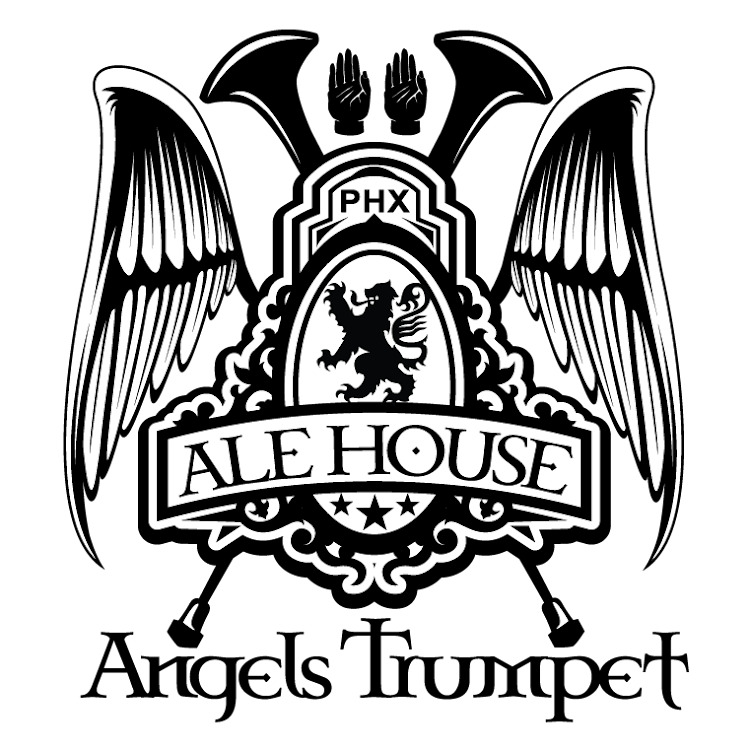 Logo for Angels Trumpet Ale House - Arcadia