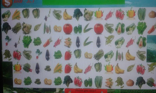 New Vegetables Matching Game