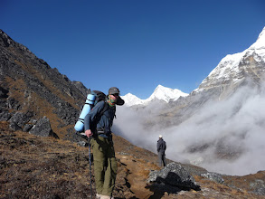 Photo: Lyngve in Hunku valley