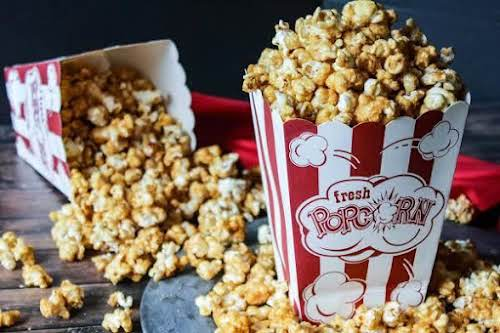 """Incredible Caramel Popcorn """"This is absolutely the best tasting Carmel corn I..."""
