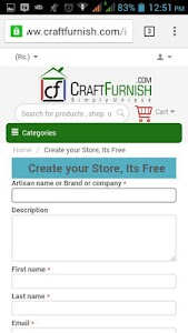 Craftfurnish Seller screenshot 1