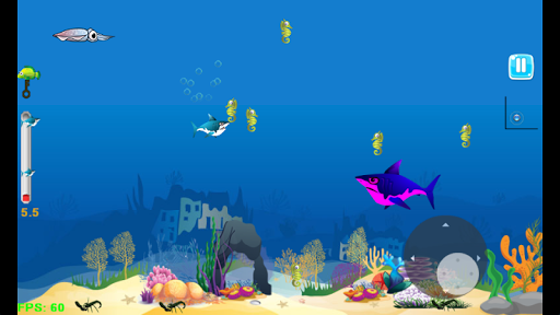 Shark Journey - Feed and Grow Fish Game filehippodl screenshot 3