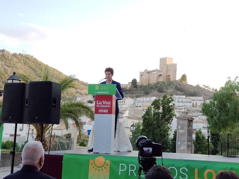 Guillermo Mirón, periodista de LA VOZ, abriendo el acto de entrega de premios.