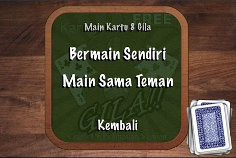Kartu 8 Gila -Crazy8 Indonesia screenshot