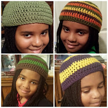 Photo: the crochet beanie hat explosion day 1!