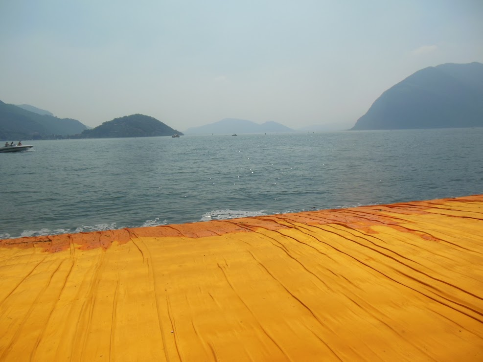 The floating piers - Sulzano