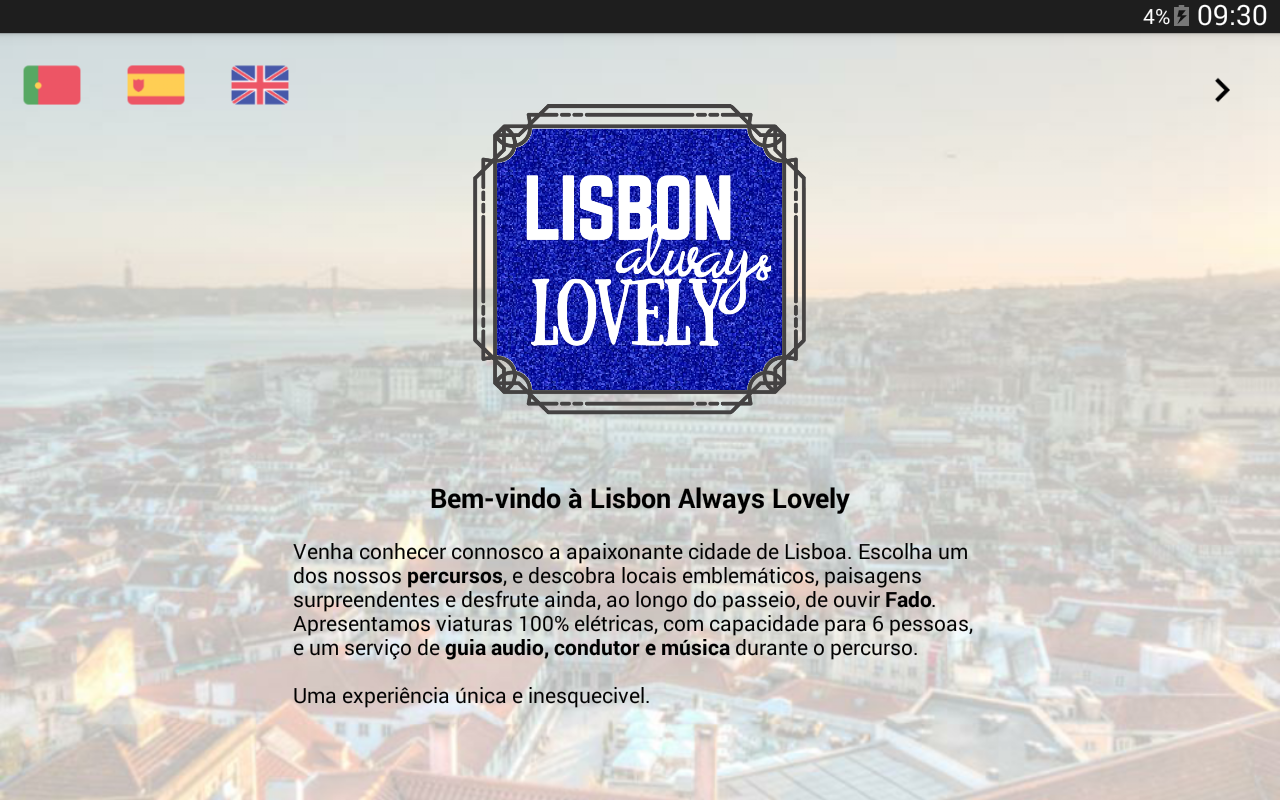 TourApp - Lisboa Always Lovely- screenshot