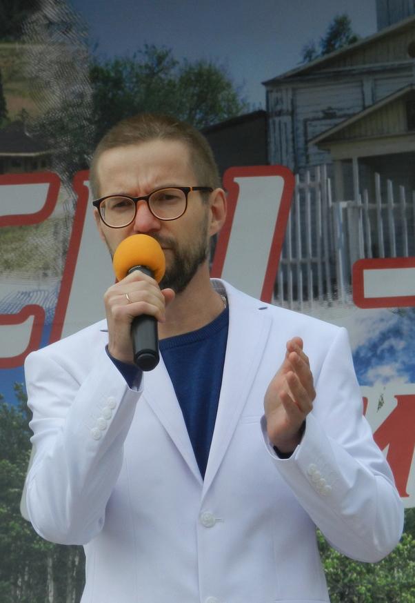 Дмитрий Воронов в Перми