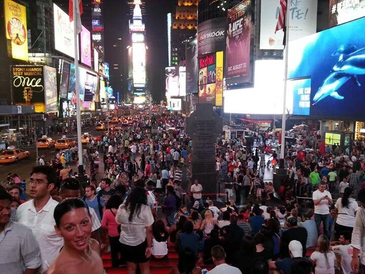 Trovarsi a Times Square di fb photographer