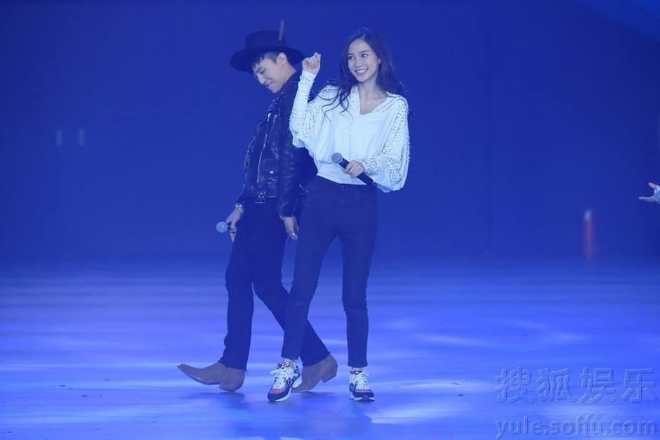 G-Dragon, Angelababy on Hurry Up, Brother