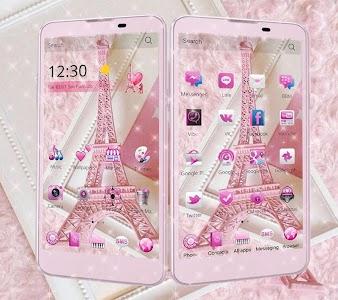 Cm Launcher 3d Theme Wallpaper Apk Download Pink Theme Eiffel Tower Love For Pc Windows 7 8