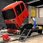 Real Truck Mechanic Workshop Icon