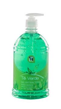 Gel Farmatodo Té Verde   Antibacterial Para Manos X1L.