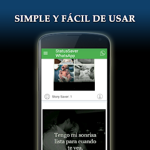 Guardar Estados de WhatsApp Screenshot